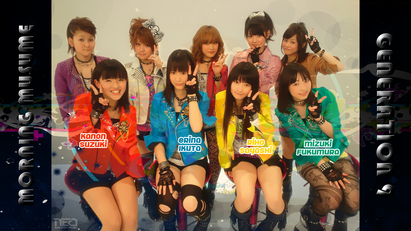 Morning Musume Generation 9 by NEO-Musume
