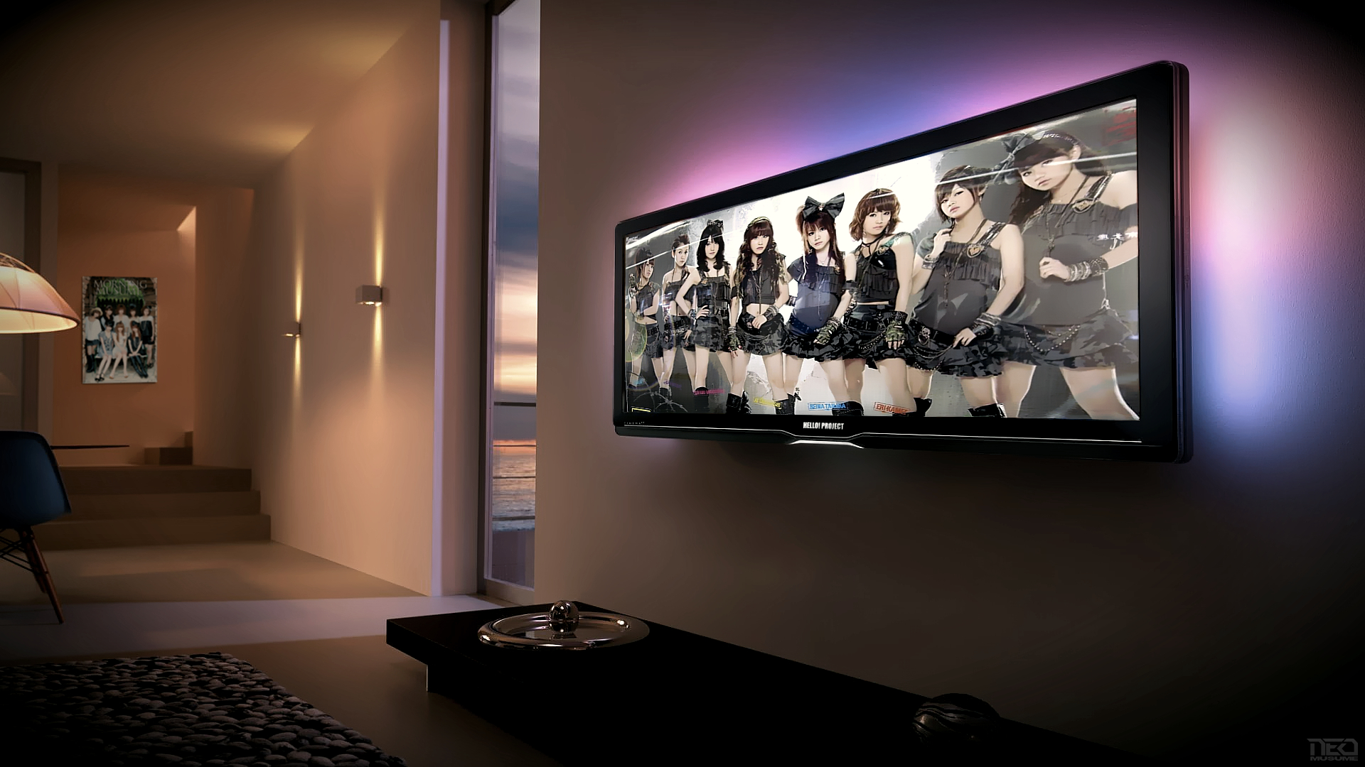 Musume living room by NEO-Musume