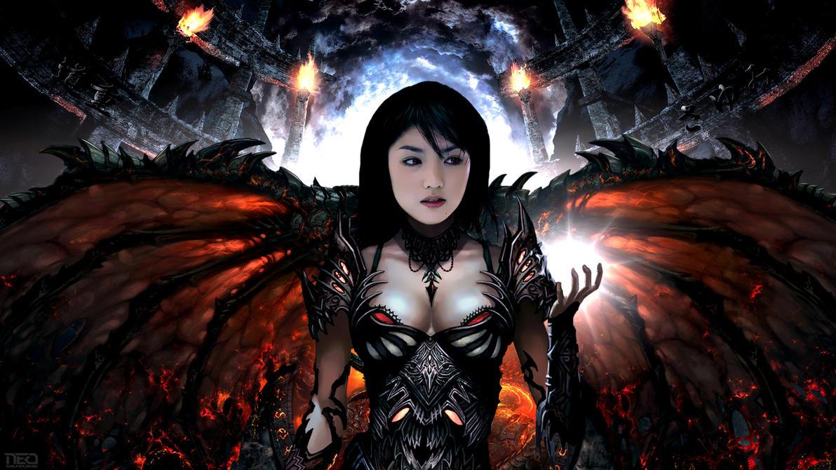 Sayumi Demon by NEO-Musume