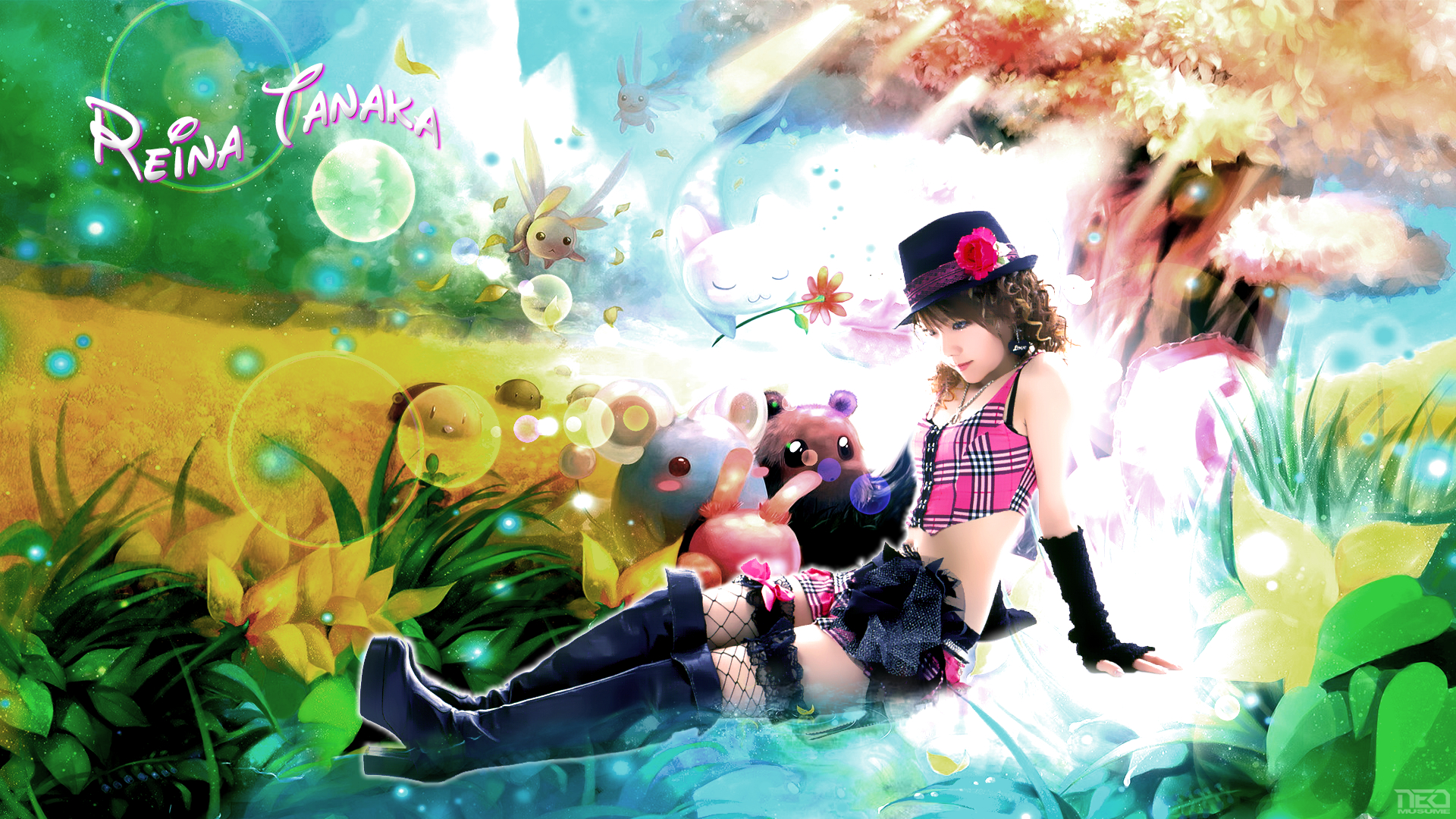 Reina in Wonderland by NEO-Musume