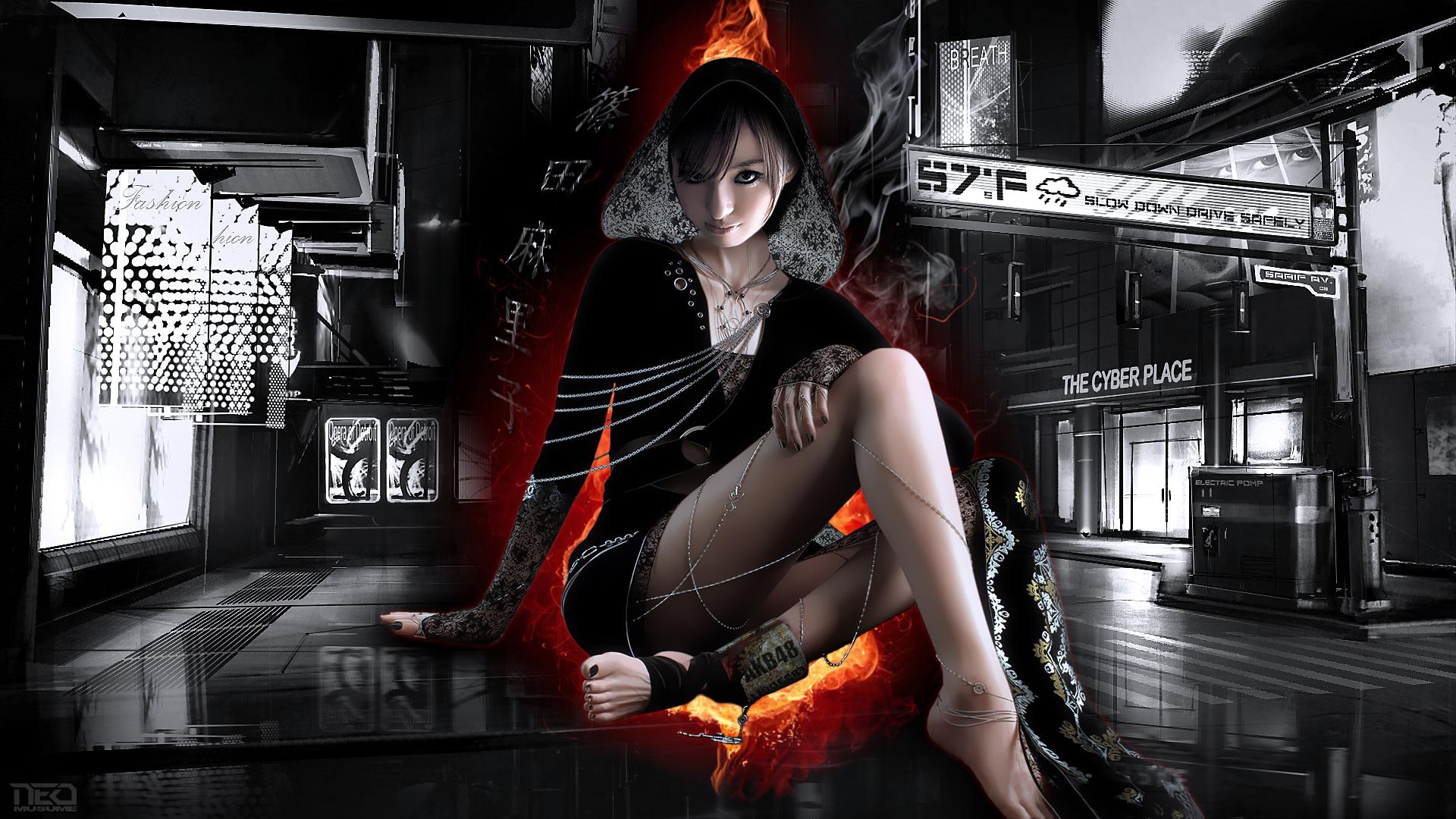Mariko Fire by NEO-Musume