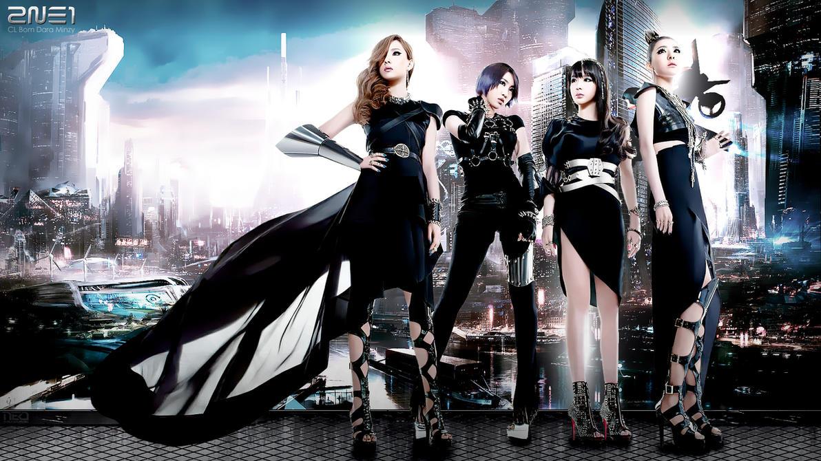 Future 2NE1 by NEO-Musume