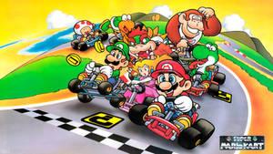 Super Mario Kart by NEO-Musume