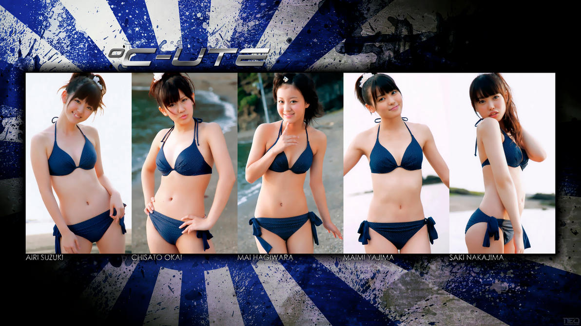 C-ute Sexy 4K by NEO-Musume