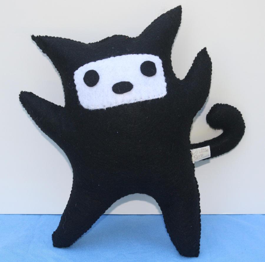 Ninja Kitty by EvilLittleGirls