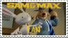 Sam and Max stamp