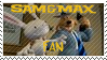 Sam and Max stamp by RJGrid