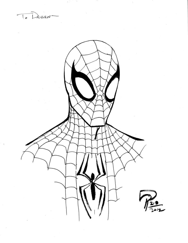 Pin Spiderman Para Pintar E Imprimir Dibujos Colorear ...