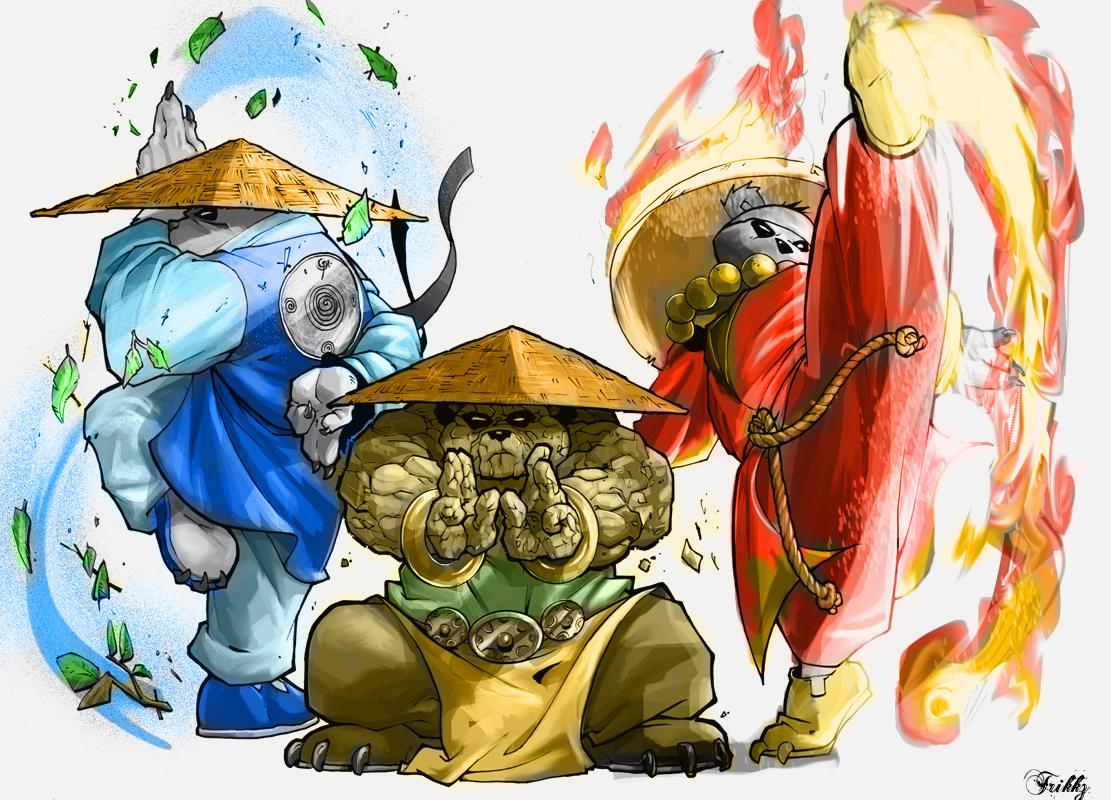 Pandaren Brewmaster by TrikkzMikkez