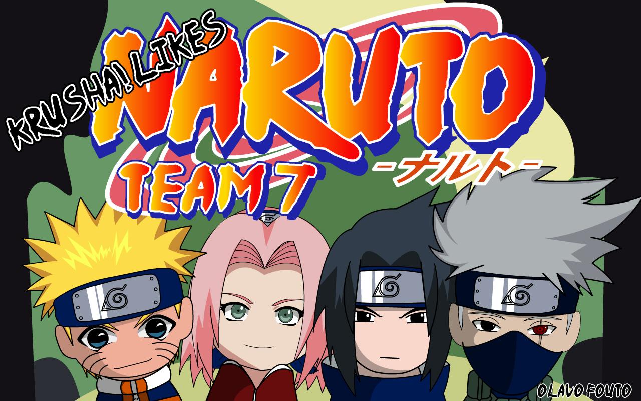Good Wallpaper Naruto Team 7 - krushalikes_naruto_team7_by_krsha  2018.jpg