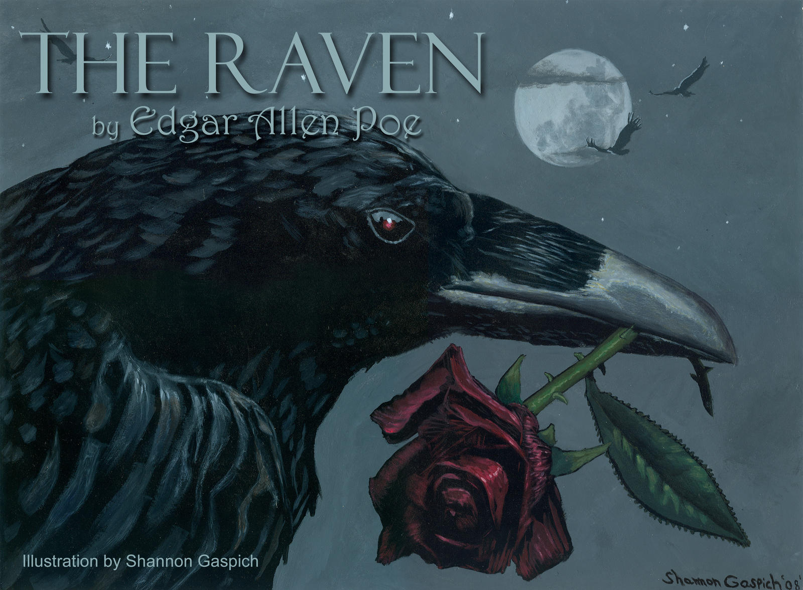Populaire The Raven :Edgar Allen Poe: by Shannon-Gaspich-1981 on DeviantArt IT34