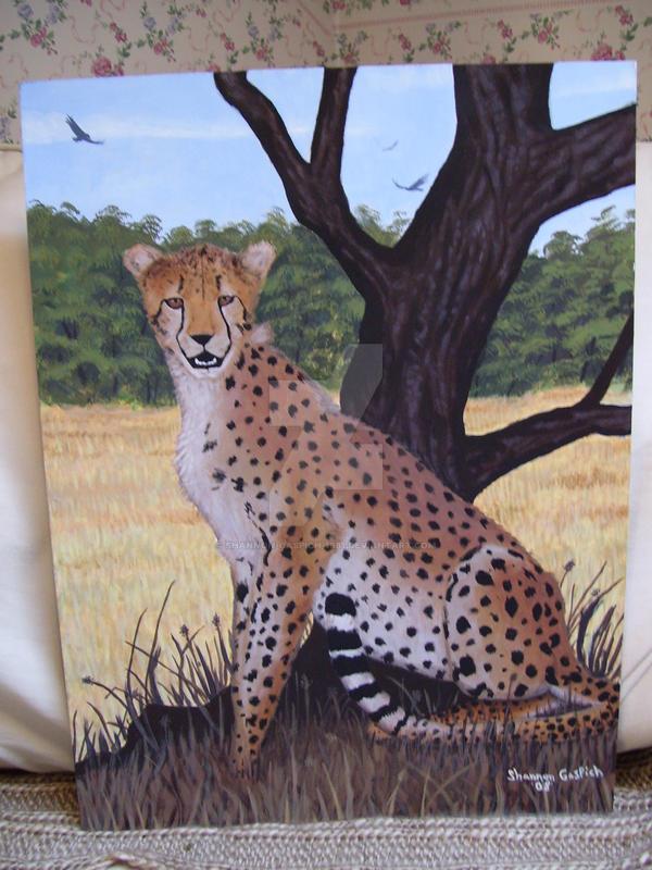 The Cheetah's Safari by Shannon-Gaspich-1981