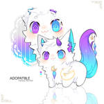 (CLOSE)Adoptable(105):Fantasy Monster by DuckyEyes
