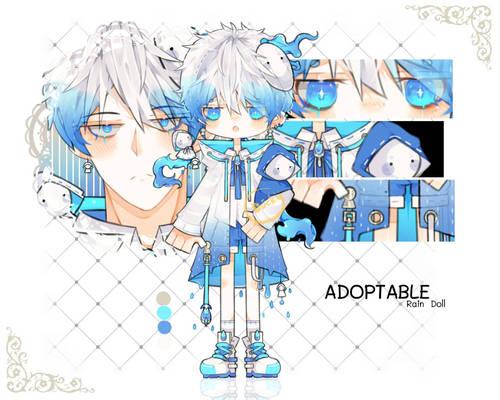 (OPEN)Adoptable(125):Rain Doll