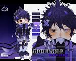 (OPEN) Adoptable (206): Black Shark by DuckyEyes
