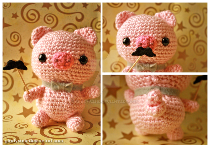 Cute Amigurumi Pigs : Amigurumi Pig by gladysaur on DeviantArt