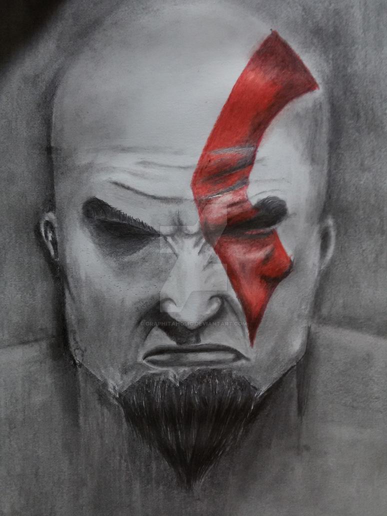 Kratos by graphitaholic