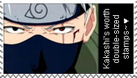 Kakashi stamp:: by tailartz