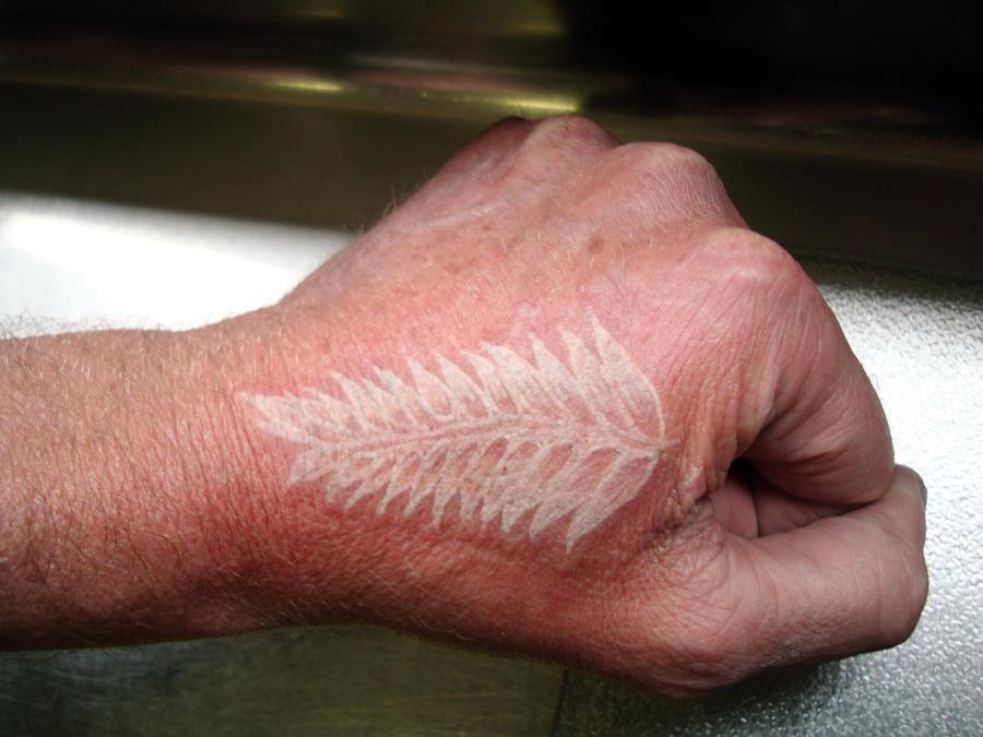 Silver Fern Tattoo by ~hellnbak on deviantART
