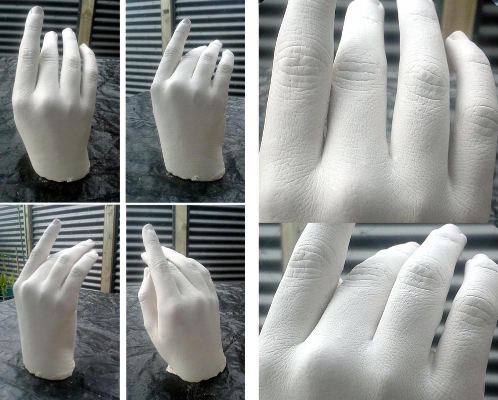 Hand Casting by hellnbak