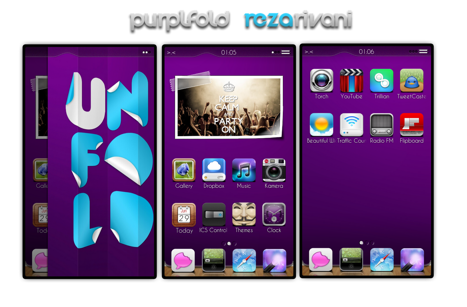 purplFold by rezarivani