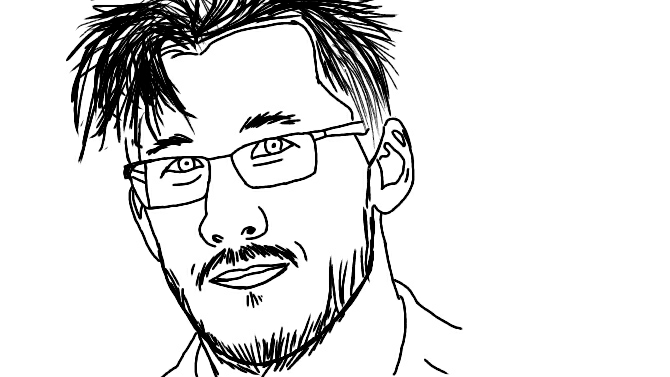 Markiplier fanart by autumnwolf5301