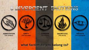 5 Divergent Factions