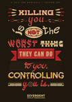 Divergent Quote Typography