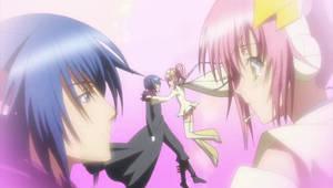 Amu and Ikuto by XxNishixX16
