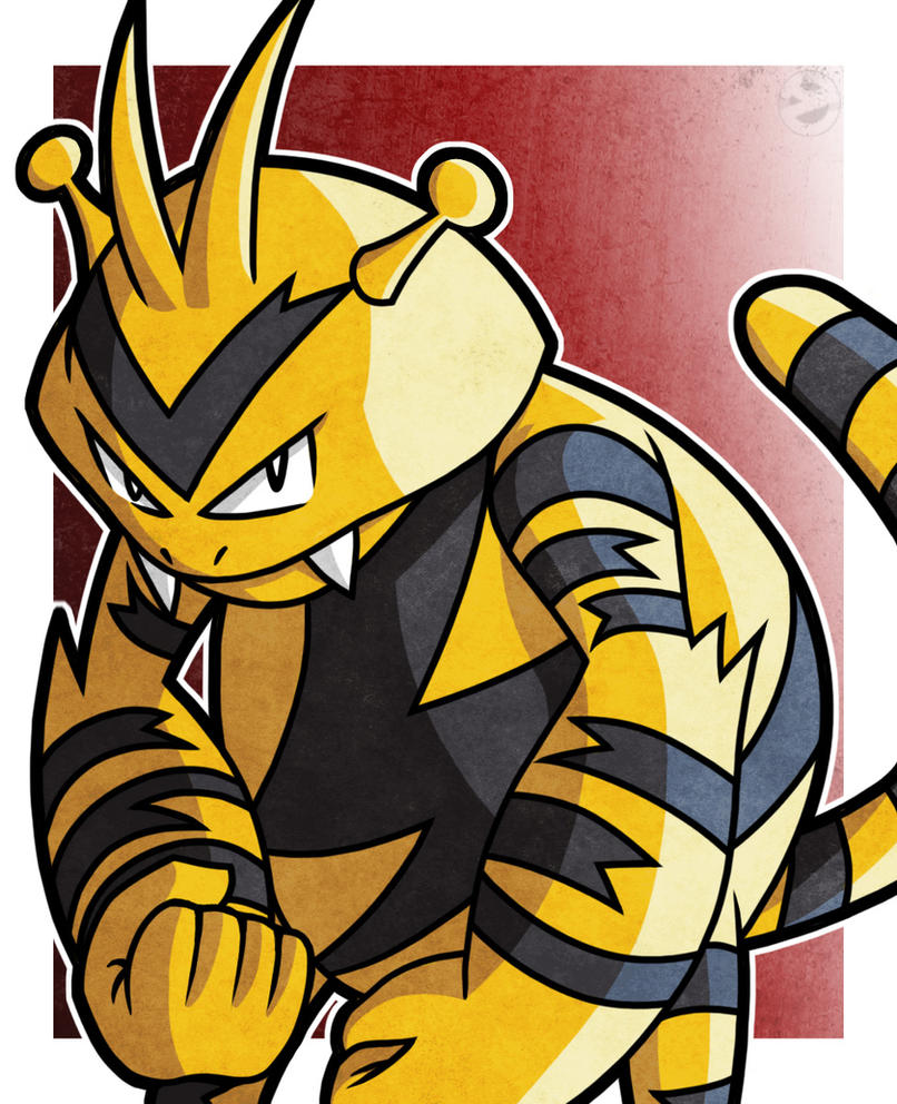 Electabuzz by WhyDesignStudios
