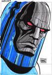 Darkseid by Daniel Brandao