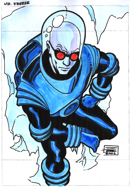 Mr Freeze by Daniel Brandao