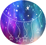 Galaxy Stars Divider by SparklingDust9