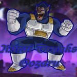Future Trunks Oozaru by ThorinOneLastTime