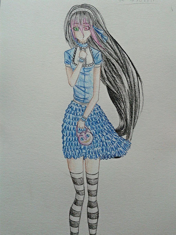 I tried a lolita Sakura by Zeryuo