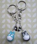 Totori Friendship Keychains by SneakyCinnamon