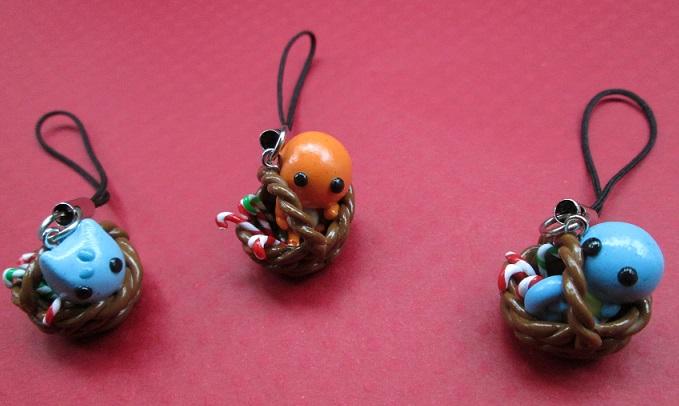 Chibi Kanto Pokebasket Charms by SneakyCinnamon