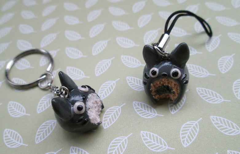 Totoro Cake Charms by SneakyCinnamon