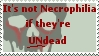 Zombies NOT Necrophilia -Stamp by Zoshi-the-Confused