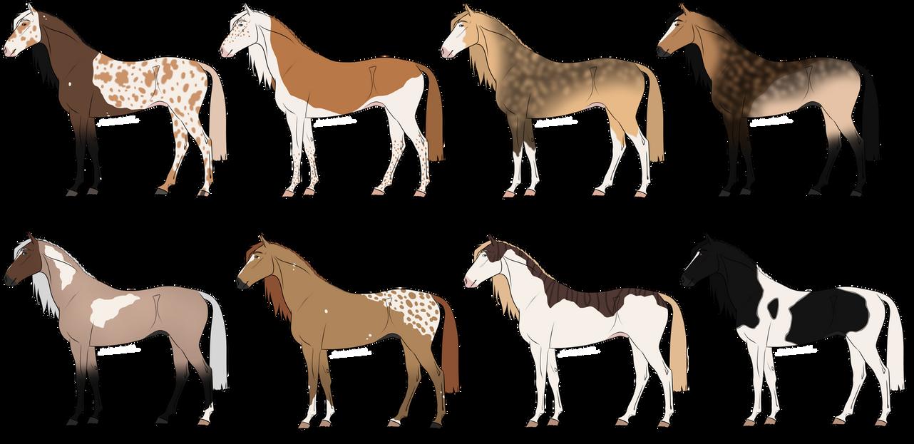# SetPrice-Adoptables - Horses 2 - OPEN [3/8] by PinkPlushChicken
