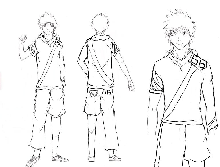 Bleach clothes design ichigo by rukia shinigami on deviantart for How to bleach part of a shirt