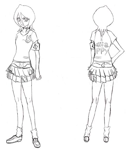 Design Clothes Bleach clothes design Rukia by