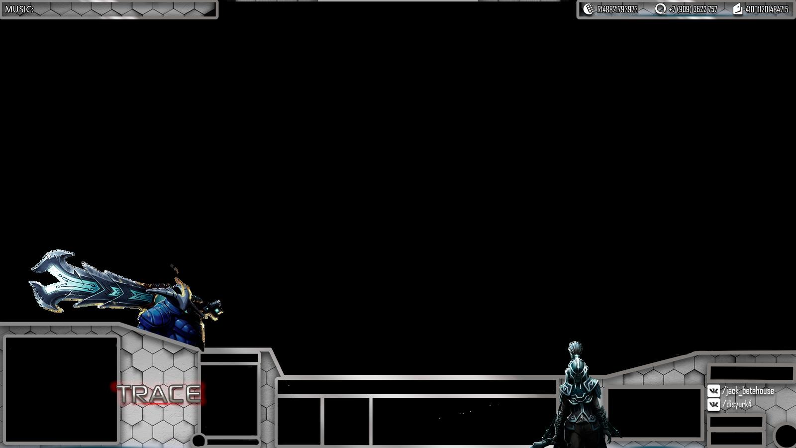 dota 2 custom hud overlay phantom assassin by yurk4 on deviantart