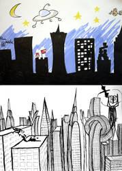 Cityscape by Lady-Natsuki