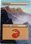 MTG altered card - Mountain by Lady-Natsuki