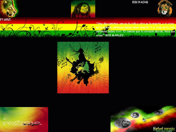 WALLPAPER REGGAE by coletin