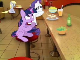 Lunchtime Conversation by TokkaZutara1164