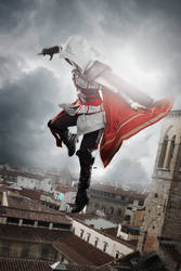 Ezio Auditore Cosplay (Assassin`s Creed 2) female