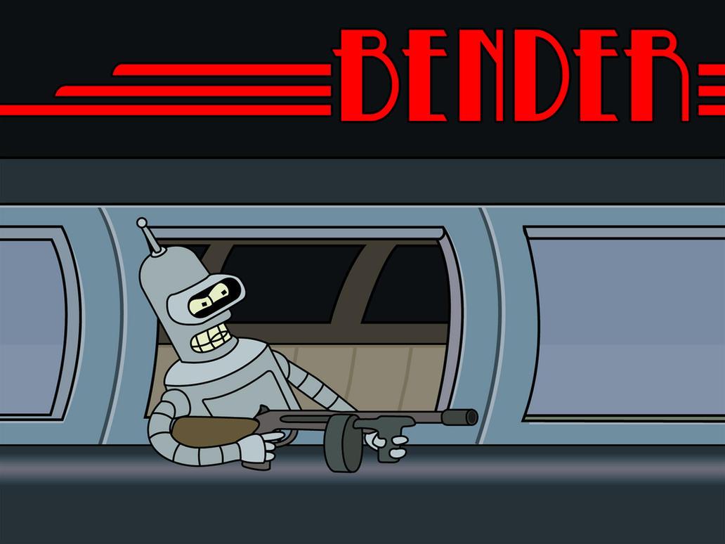 Bender Wallpaper by sargeras