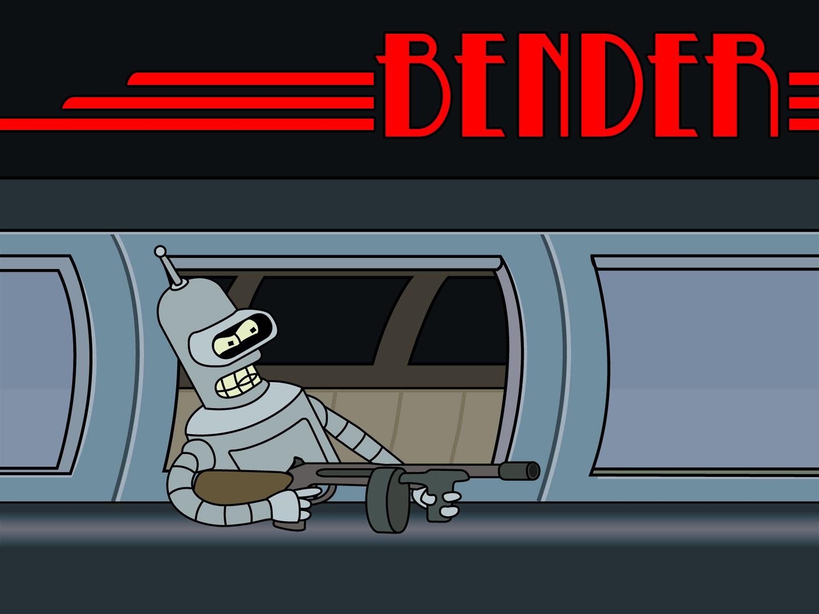 Bender Wallpaper by sargeras on DeviantArt